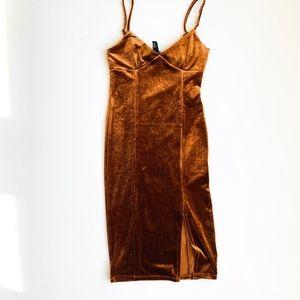 FOREVERR 21 Gold Dress